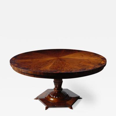 ILIAD Bespoke Biedermeier Inspired Pedestal Table