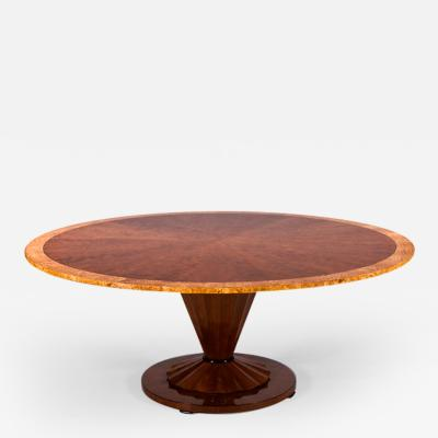 ILIAD Bespoke Large Modernist Inspired Pedestal Table
