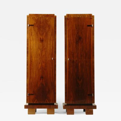 ILIAD Bespoke Pair of Bauhaus Inspired Pedestal Cabinets by ILIAD Design