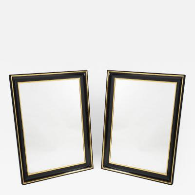 ILIAD Bespoke Pair of Biedermeier Style Mirrors
