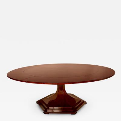 ILIAD Bespoke Vienna Biedermeier Inspired Trumpet style Extendable Dining Table