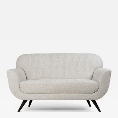 ILIAD DESIGN A Danish Modern Inspired Settee by ILIAD Design