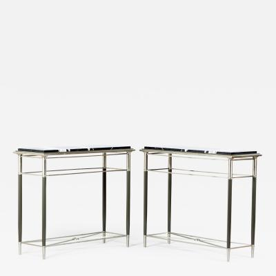 ILIAD DESIGN A Freestanding Pair of Art Deco Consoles by ILIAD Design