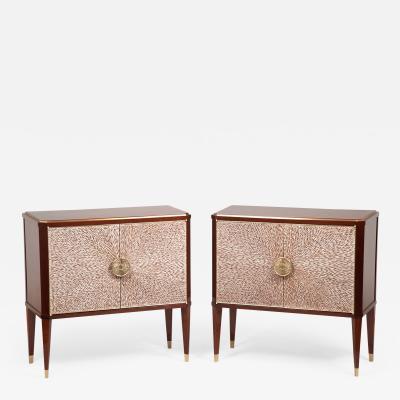 ILIAD DESIGN A Pair of Modernist Cabinets by ILIAD Design