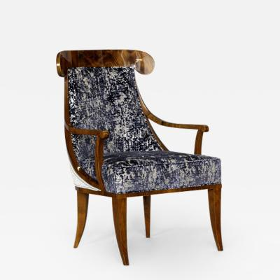 ILIAD DESIGN Vienna Biedermeier Style Armchair by ILIAD Design