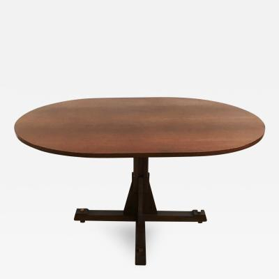 ISA 1950s Oval Dining Table by ISA