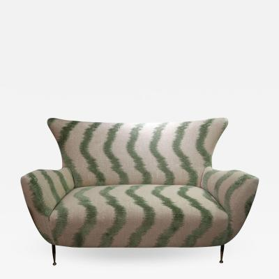 ISA A Sofa by Isa Manufacture Italy 1950