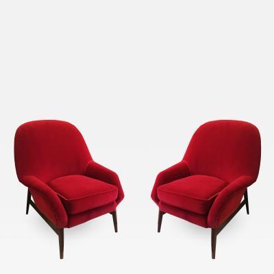 ISA Bergamo I S A Italy Pair of armchairs