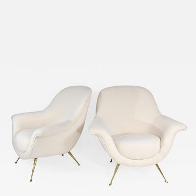 ISA Bergamo I S A Italy Pair of chic armchairs