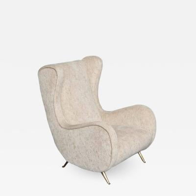 ISA ISA Wingback Armchair Made in Milan