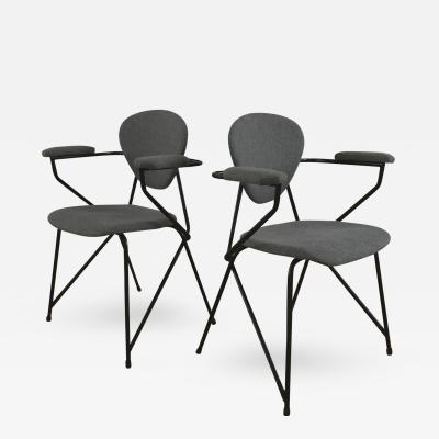 ISA Pair of Chairs by ISA Ponte San Pietro