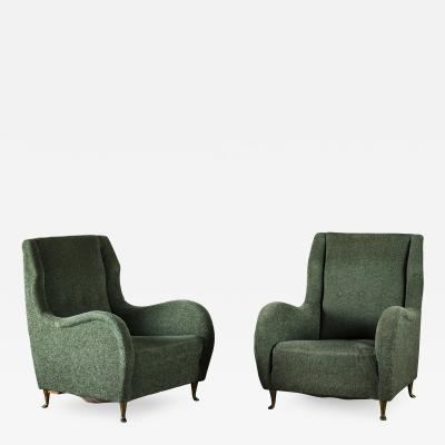 ISA Pair of I S A Club Chairs