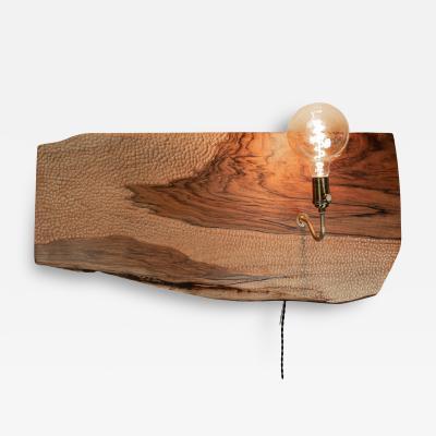 Ian Love Design English Walnut Wall Sconce