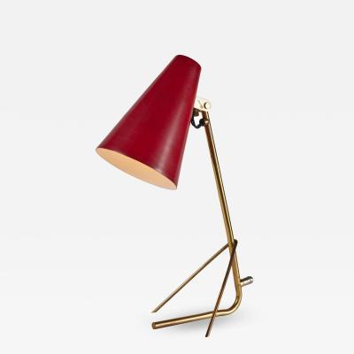 Idman Oy 1950s Mauri Almari Model K11 17 Table Lamp for Idman