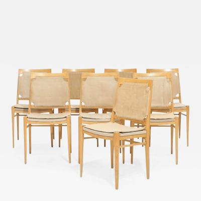 Illums Bolighus Eight Dining Chairs from Illum Bolighus
