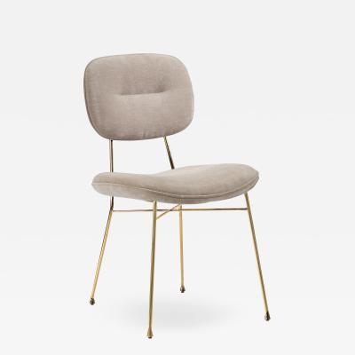 Interlude Home Abner Chair Beige Latte
