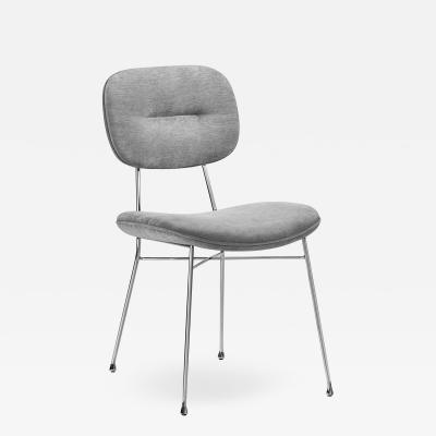 Interlude Home Abner Chair Ocean Grey
