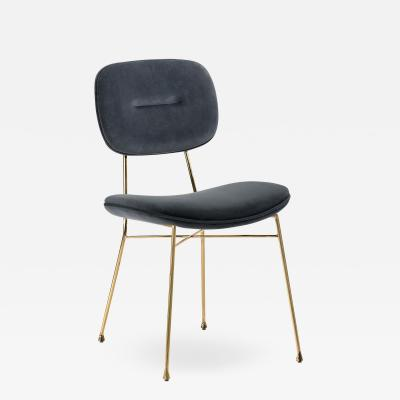 Interlude Home Abner Chair Sky Grey