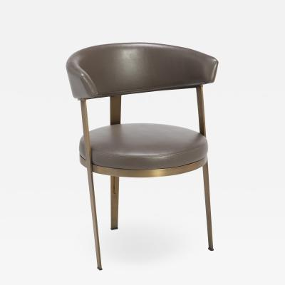 Interlude Home Adele Dining Chair Grey