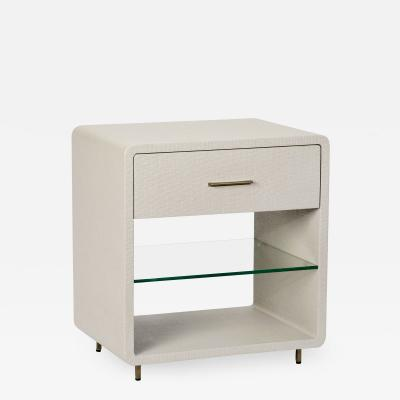 Interlude Home Alma Bedside Chest Sand
