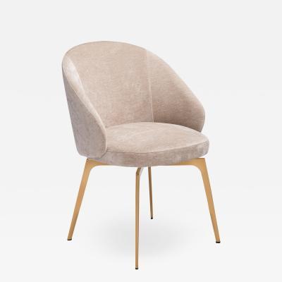 Interlude Home Amara Dining Chair Beige Latte