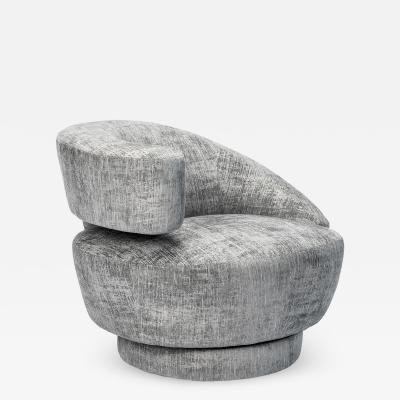 Interlude Home Arabella Swivel Left Chair Feather