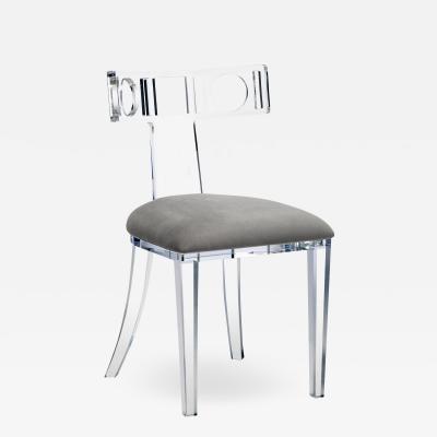 Interlude Home Ardsley Acrylic Klismos Chair