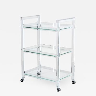 Interlude Home Ava Bar Cart