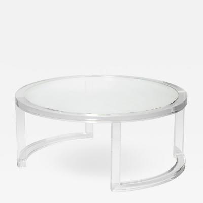 Interlude Home Ava Round Cocktail Table