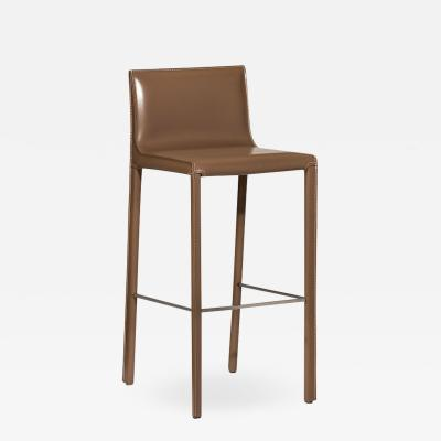 Interlude Home Bianca Bar Stool Cappuccino