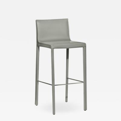 Interlude Home Bianca Bar Stool Grey