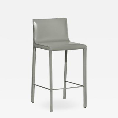 Interlude Home Bianca Counter Stool Grey