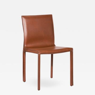 Interlude Home Bianca Dining Chair Cognac