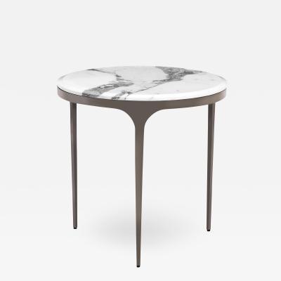 Interlude Home Camilla Side Table Arabescato