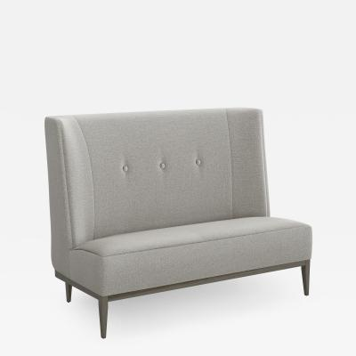 Interlude Home Chloe Banquette Grey