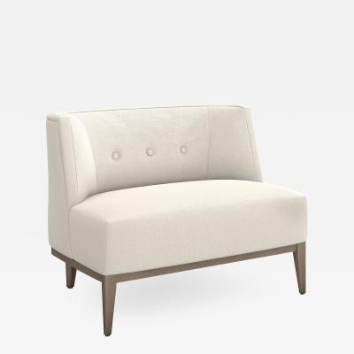 Interlude Home Chloe Chair Pearl