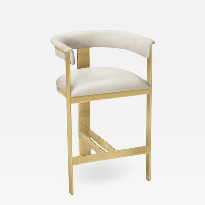 Interlude Home Darcy Counter Stool Cream