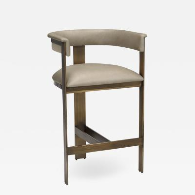 Interlude Home Darcy Counter Stool Taupe