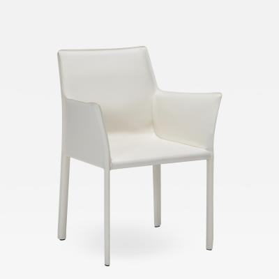 Interlude Home Jada Arm Chair White