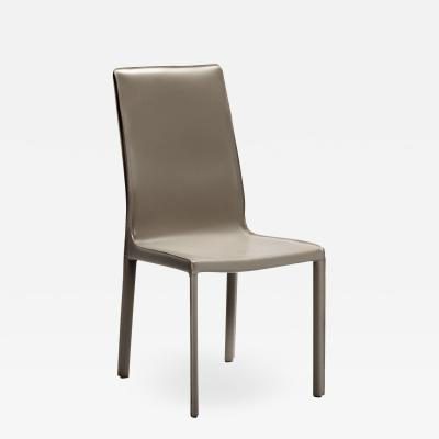 Interlude Home Jada High Back Dining Chair Taupe
