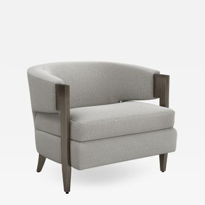 Interlude Home Kelsey Chair Grey