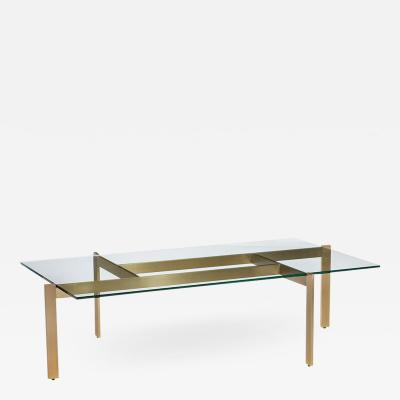 Interlude Home Luc Cocktail Table Brushed Brass