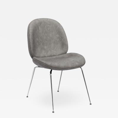 Interlude Home Luna Dining Chair Distressed Charcoal