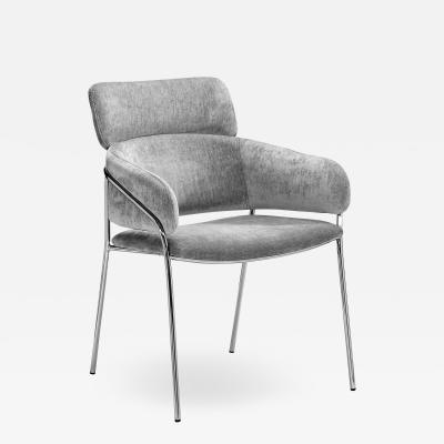 Interlude Home Marino Chair Ocean Grey
