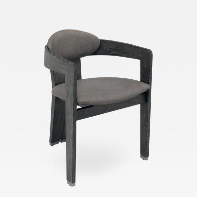 Interlude Home Maryl Dining Chair Charcoal