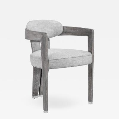 Interlude Home Maryl II Dining Chair Grey Linen