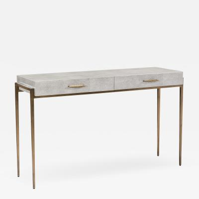 Interlude Home Morand Desk Console Grey