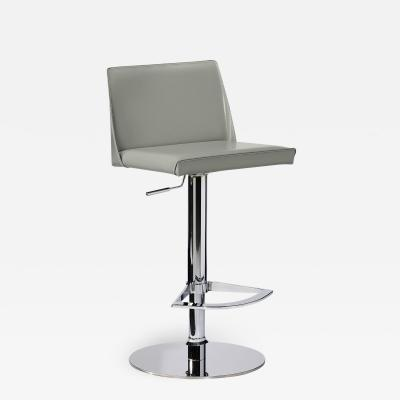 Interlude Home Nora Adjustable Stool Grey