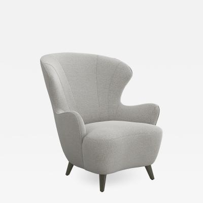 Interlude Home Ollie Chair Grey