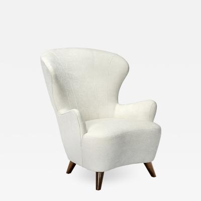 Interlude Home Ollie Chair Pearl